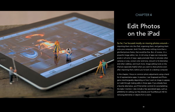 Chapter 4, Edit Photos on the iPad