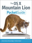 OS X Mountain Lion Pocket Guide cover