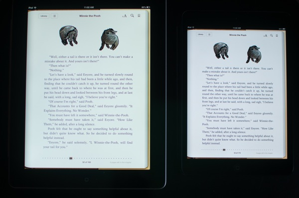 Ipadmini comparison ibooks