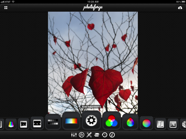 04 photoforge toolbar
