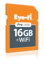 Eye Fi ProX2 16GB left view sm