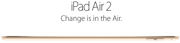 Ipad air 2 head